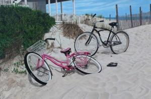Beach Bikes (c) Di Pilla