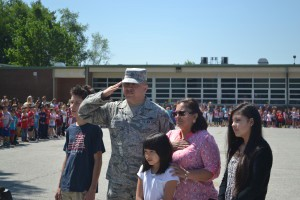 Veteran and Marlton resident greeted with surprise welcome