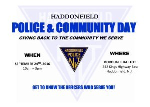 Hadd Police Comm Day