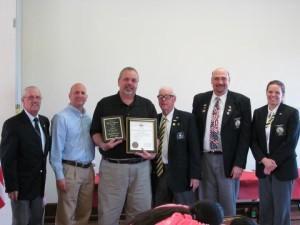 Mark von Berg Marlton Elks Citizen of the Year