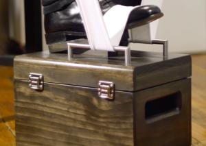 shoe box Shine Box Action