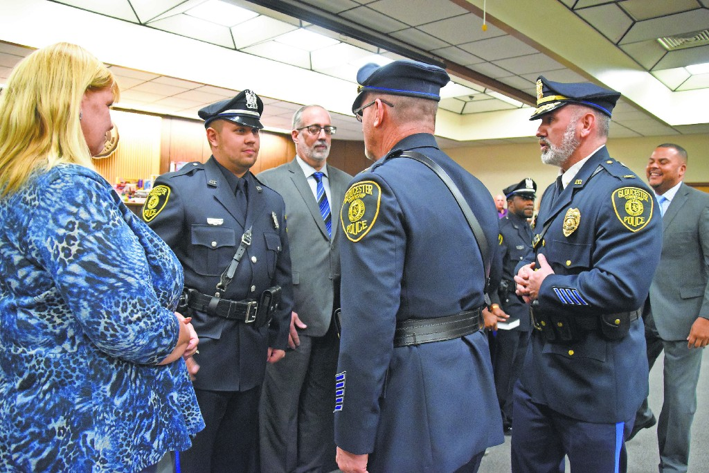 Officers sworn into Gloucester Township Police Department