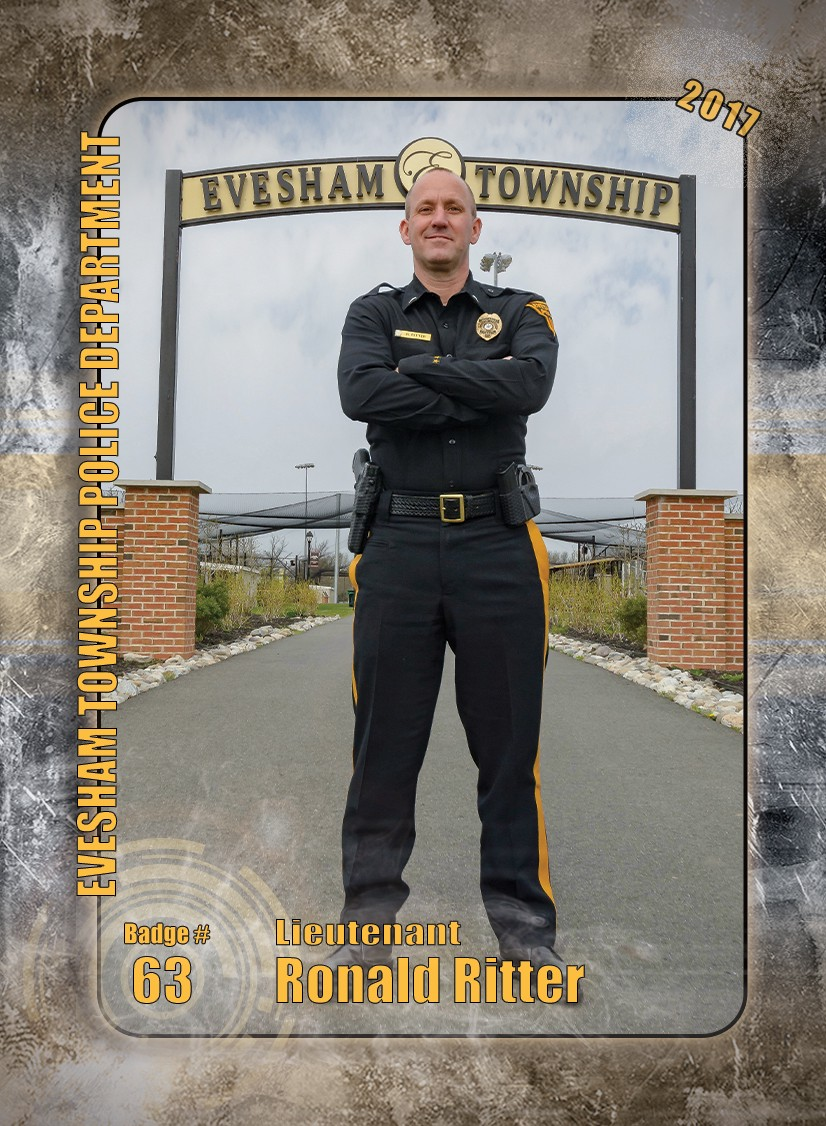 3ee5f3754a9 ... program returns as officers and civilian employees with the Evesham  Township Police Department begin carrying the new 2017 series of ETPD  trading cards.