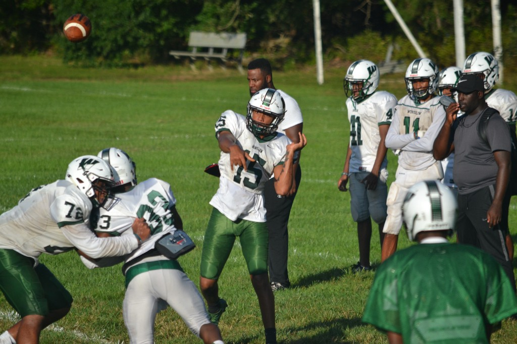 The Sun One-on-One with Winslow Township High School QB