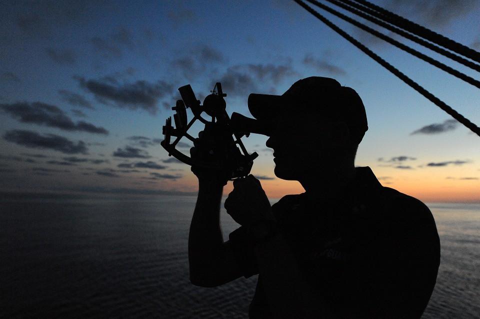 Members of U S  Coast Guard Auxiliary, Marlton, Flotilla