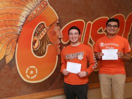 LRHSD students, including two from Cherokee High School, have been
