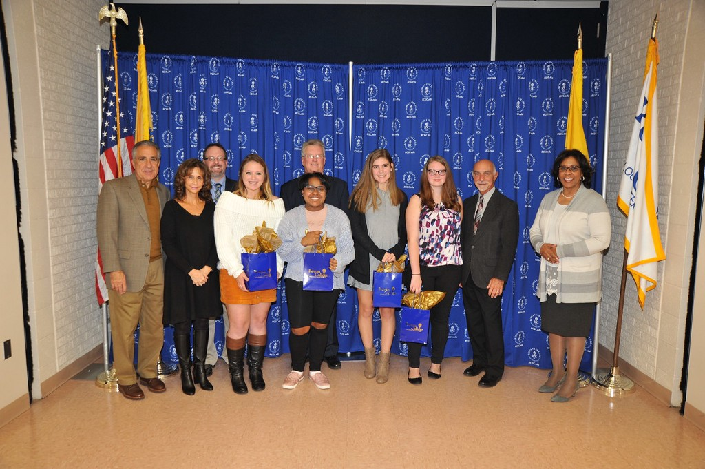 Rowan College education majors received accolades for academic