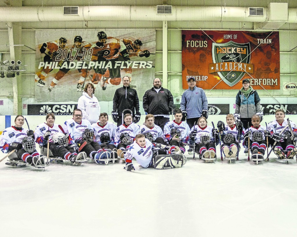 Sledding With Smiles Local Sled Hockey Team Gets Differently Abled