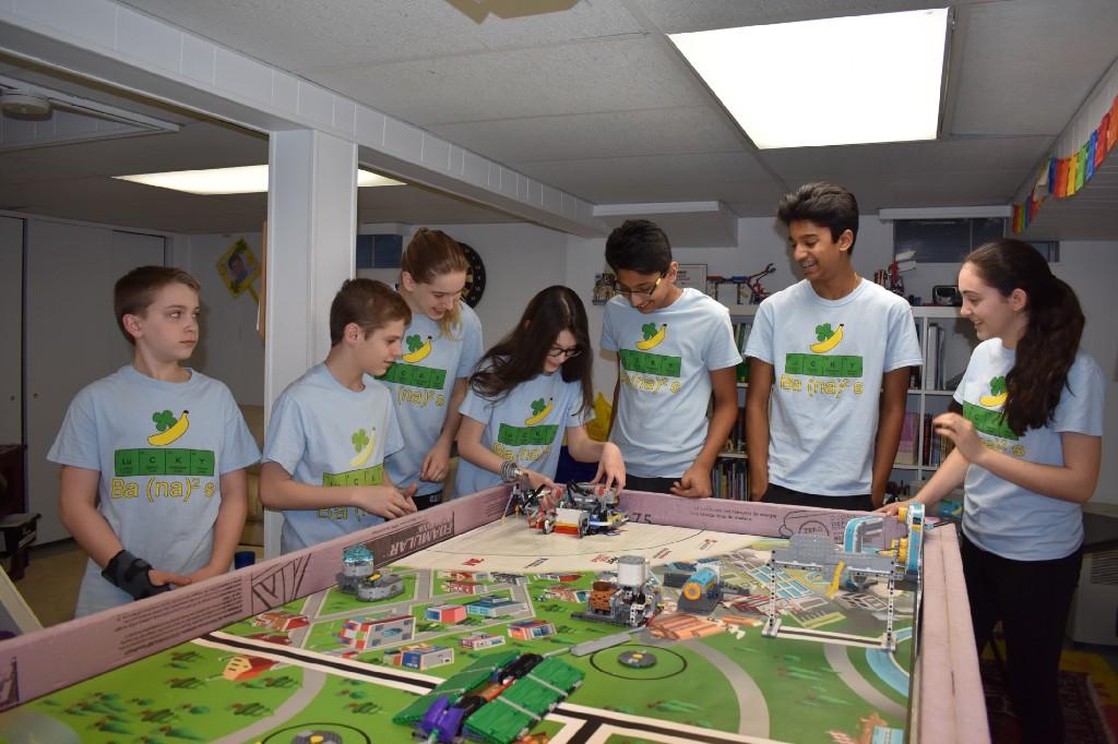 Local First Lego League team lands spot at international