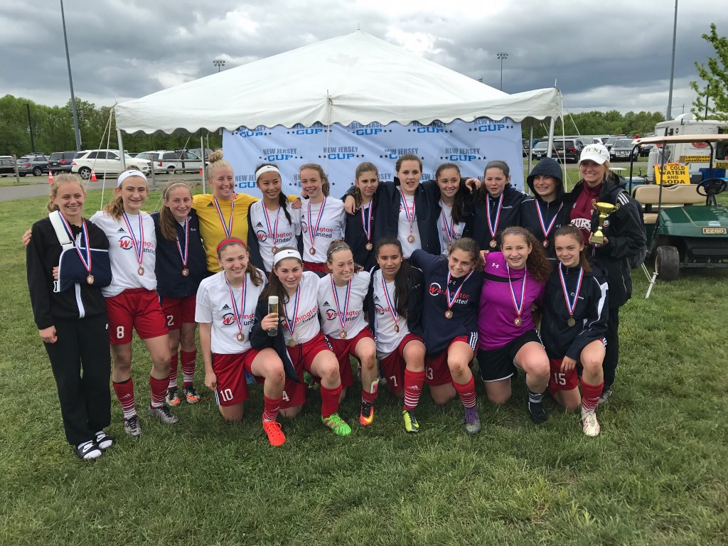Washington Township soccer teams win state cup title - The