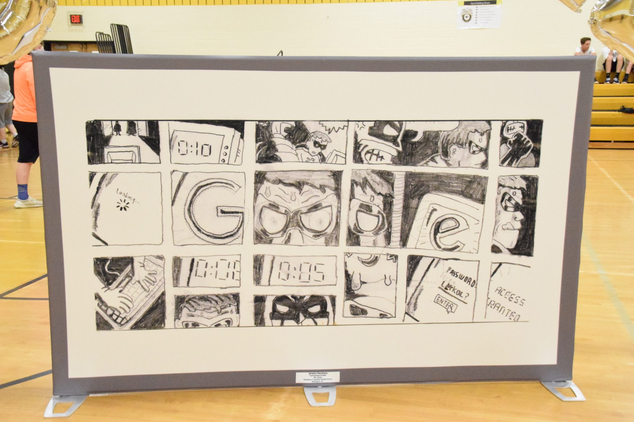 Burlington Township student's doodle could make it to Google