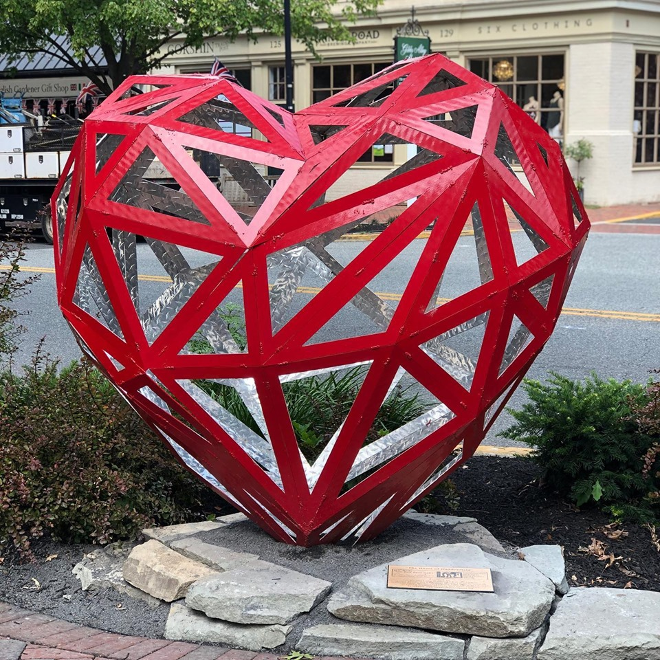 Haddonfield Outdoor Sculpture Trust purchases iconic work on Kings Highway - The Sun Newspapers