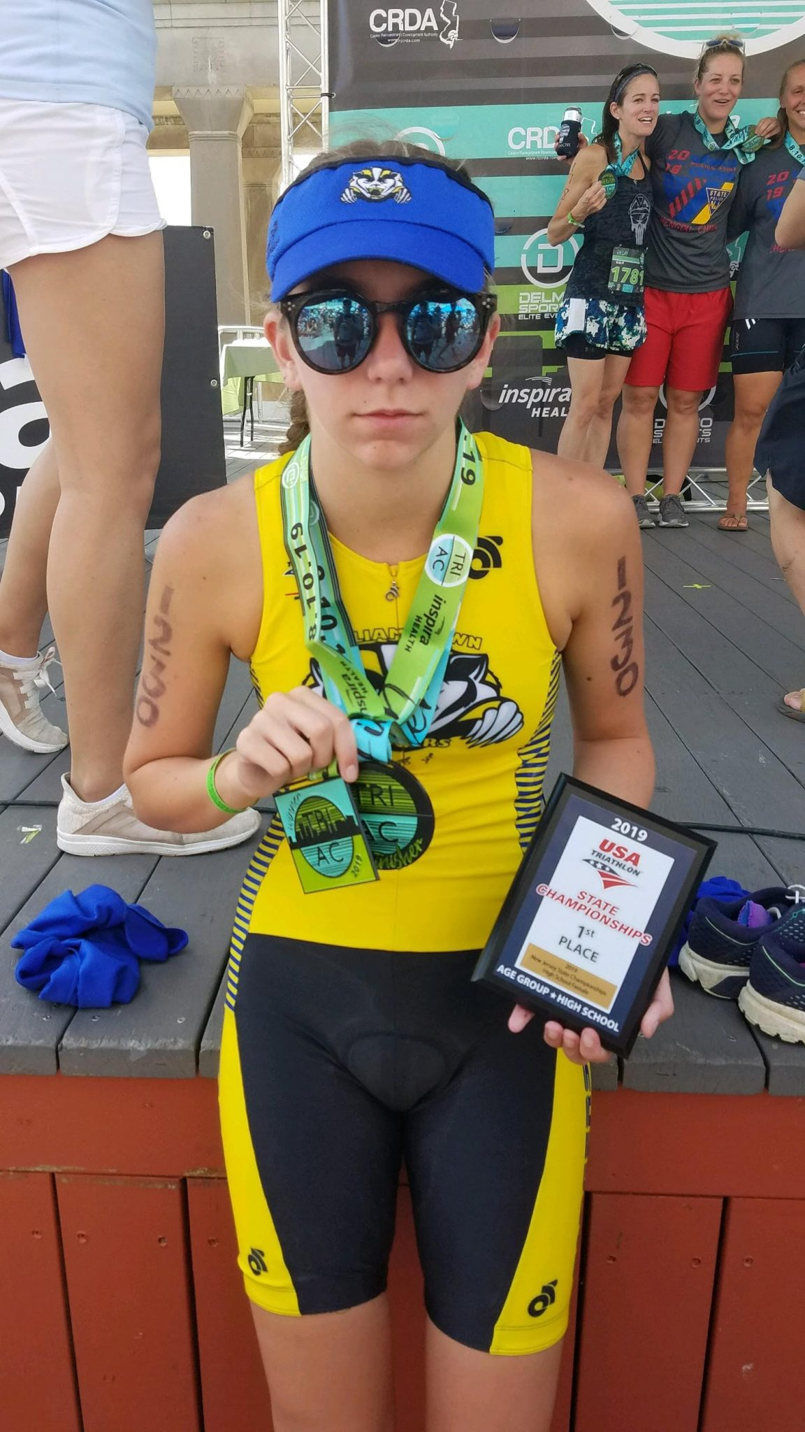 A tremendous tri-athlete - The Sun Newspapers
