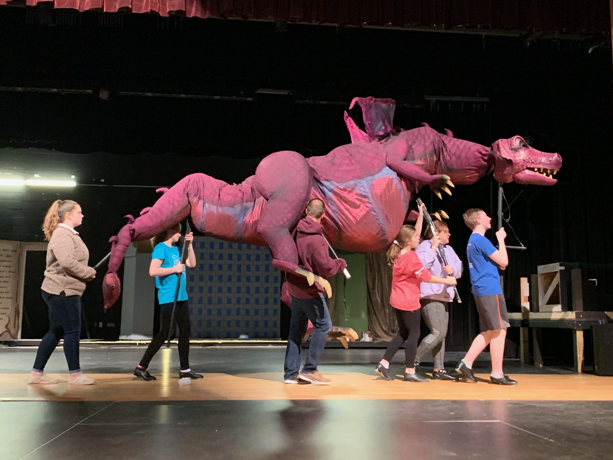 Clearview Regional Prepares For Shrek The Musical The Sun Newspapers